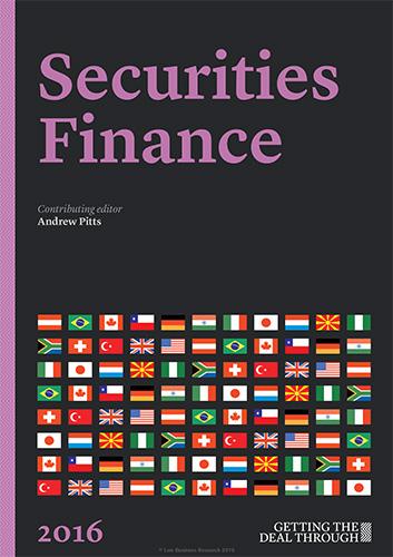 Securities Finance 2016